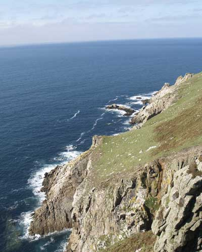 The west side of Lundy