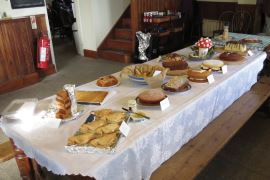 Entries for the Great Lundy Bake Off © Tim Davis